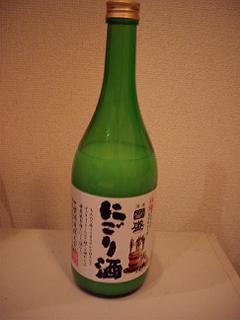 愛知県半田市中埜酒造 国盛にごり酒